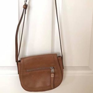 Esprit brown crossbody bag